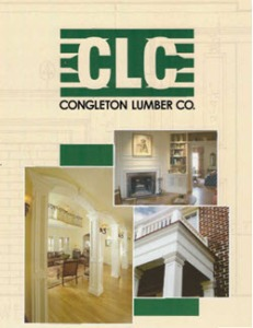 Congleton Lumber Catalog of wood moulding for residential and commercial construction lexington kentucky