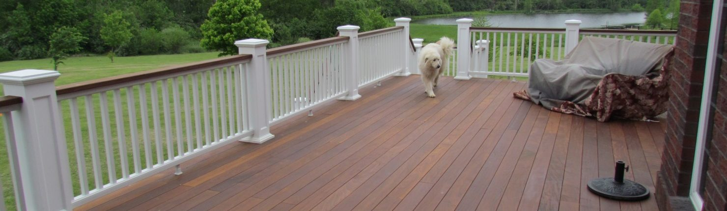 Pros and cons of ipe decking congleton lumber design for Cedar decks pros and cons