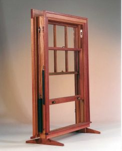 Counter weight Double hung Window