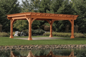 Building a pergola is a great way to extend your outdoor space. Congleton Lumber, Lexington, Kentucky